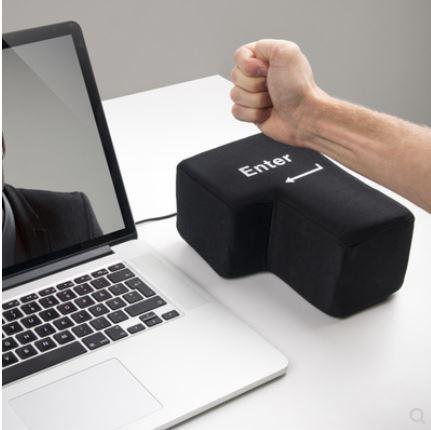 Big Enter 超大號 USB 舒壓按鍵