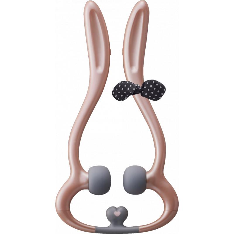 Lourdes粉紅色兔子頸部按摩器Handy Massager Rirabbit AX-KXL3400