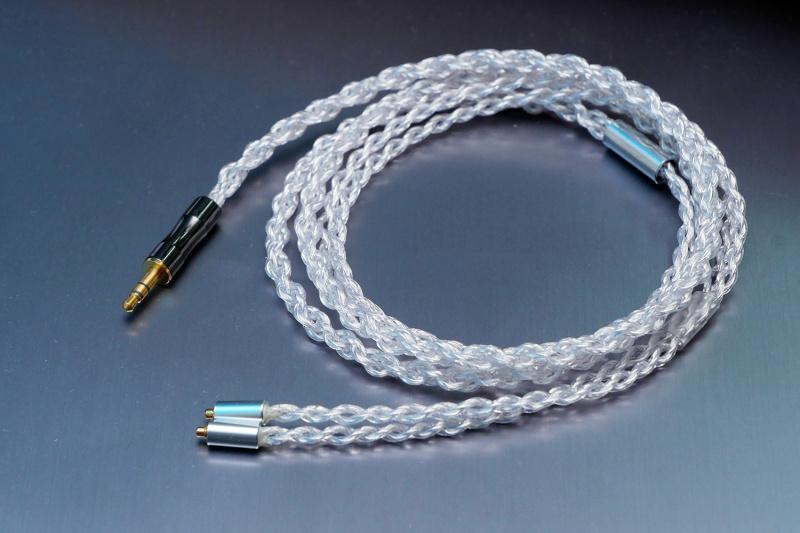 【香港行貨】ORB Brilliant Force core-8 耳機線 - 8芯 [旗艦] (3.5mm TRS、2.5mm TRRS、4.4mm Pentaconn) to (mmcx/2pin)