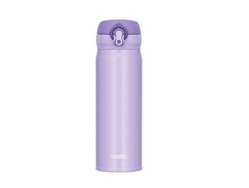 膳魔師 THERMOS 超輕量不鏽鋼真空保溫瓶 0.5L  #JNL-503 (紫色)