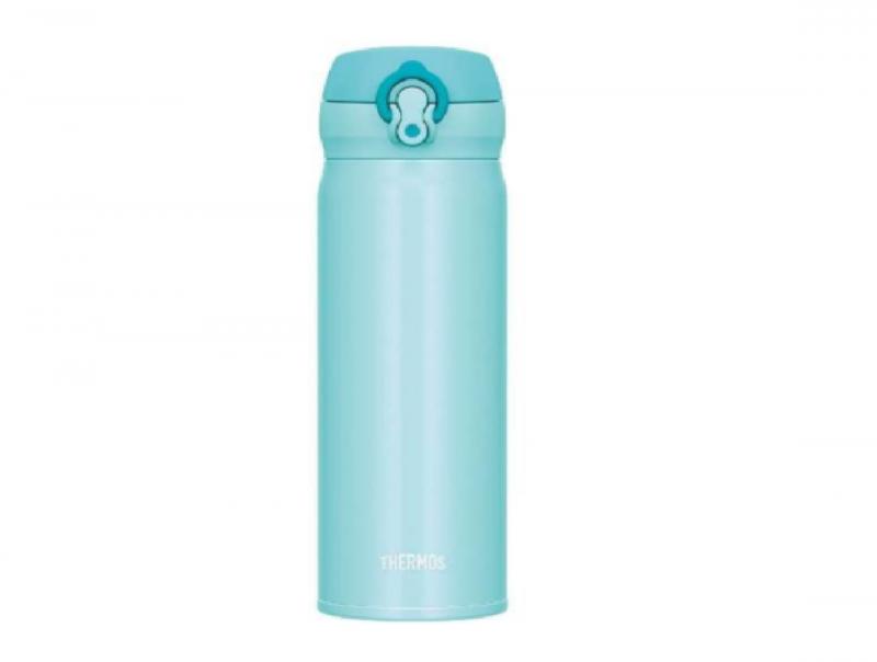 膳魔師 THERMOS 超輕量不鏽鋼真空保溫瓶 0.5L  #JNL-503  (粉藍色)