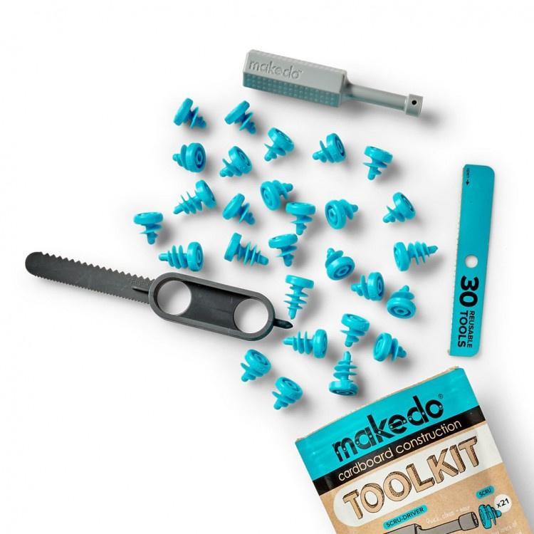 Makedo Toolkit STEM Cardboard Construction