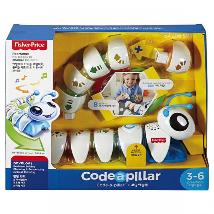 Fisher-Price Think & Learn Code-a-Pillar 編程玩具