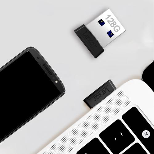 LEXAR JUMPDRIVE S47 USB3.1 迷你手指【原廠行貨】