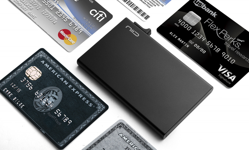 NIID SLIDE CARD HOLDER 防盜自動卡片套 [3色]
