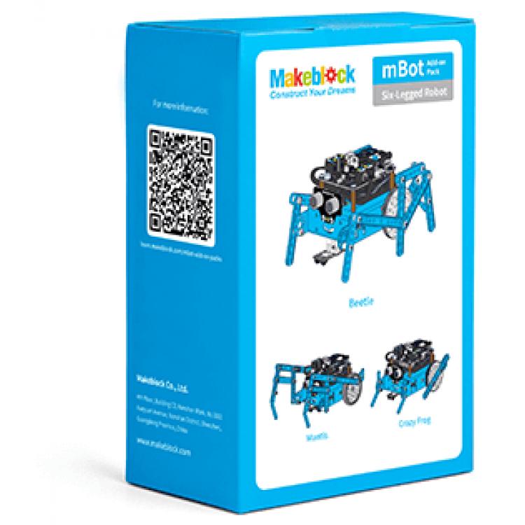 Makeblock mBot 額外配件套裝 - 六足機械人