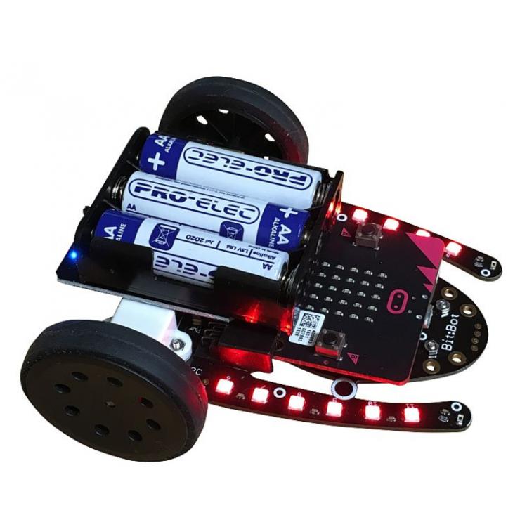 4:tronix Bit Bot Car for micro:bit (須另購micro:bit)