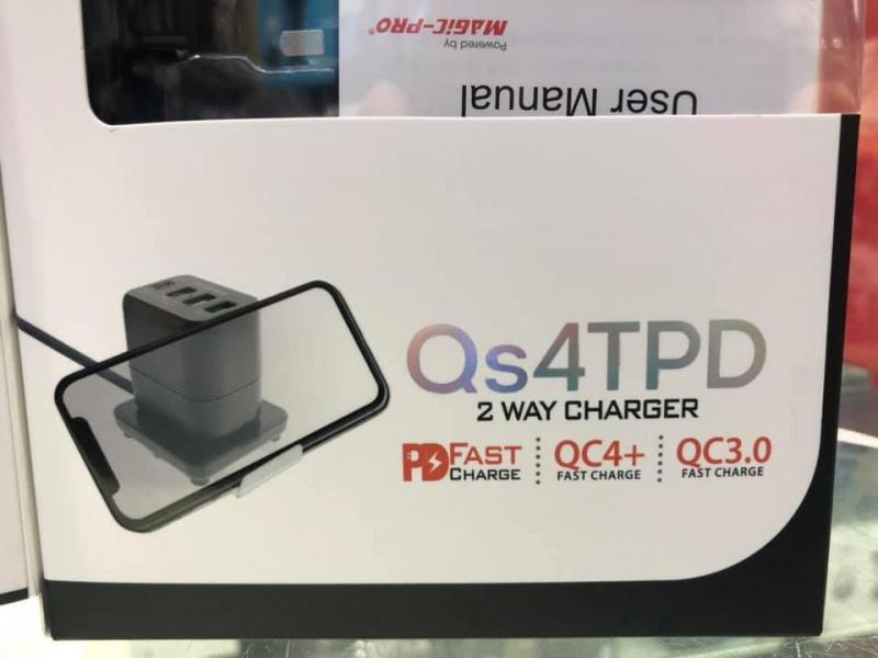 Magic-Pro ProMini QS4TPD 兩用旅行充電器 2 Way Charger PM-QS4TPD [45W / PD FAST / QC4+]