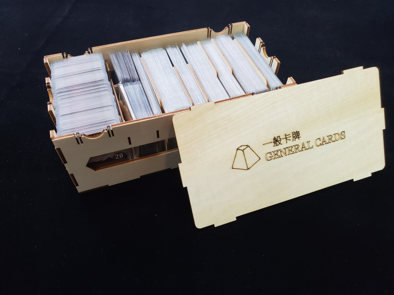 幽港迷城Gloomhaven 木製收納成品 (中英版共用)