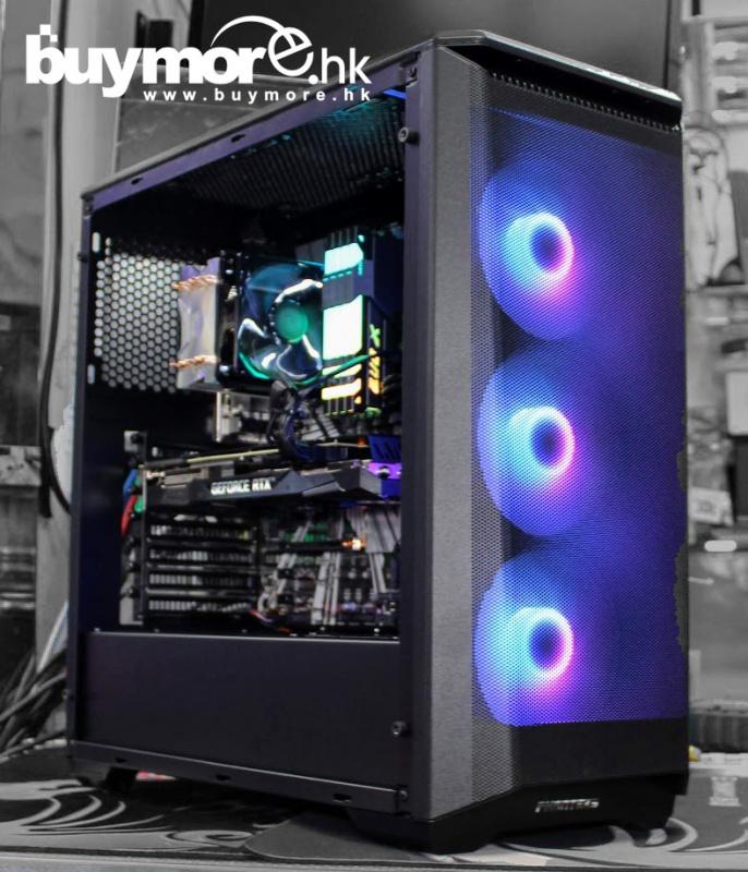 未來科技 Intel Core i9-9900K / ASUS Z390-P / GEIL RGB 8G / Samsung 970 EVO Plus 500G / PNY RTX2070 / Phanteks P400 / Cooler Master 650w / 塔式風冷
