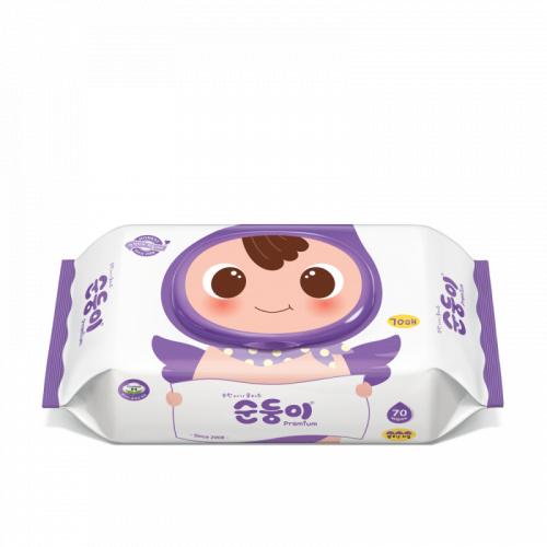 順順兒 - 高級壓花嬰兒濕紙巾70片