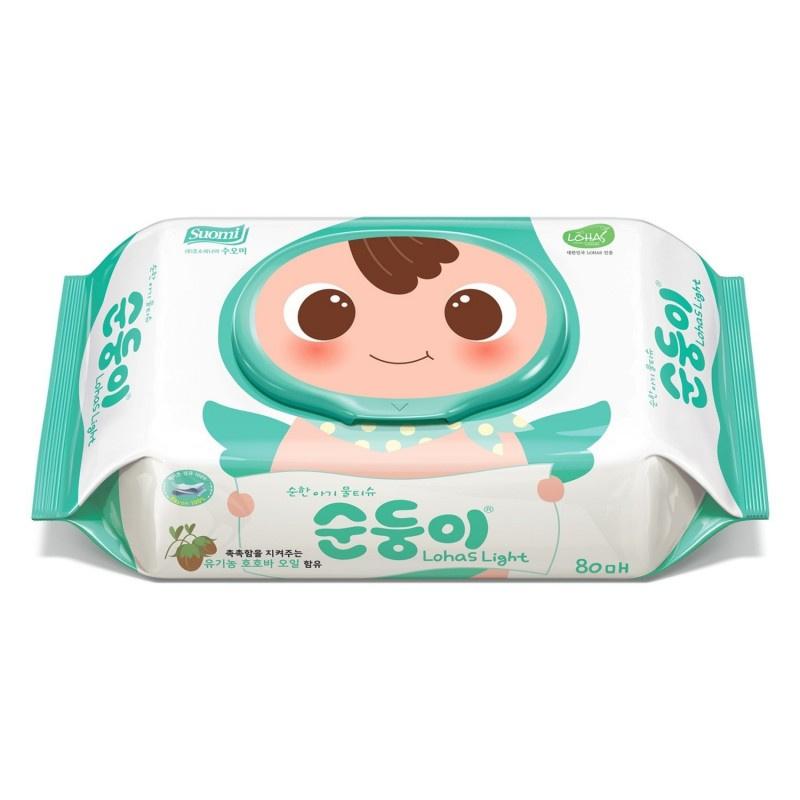 順順兒 - 頂級實惠嬰兒濕紙巾80片