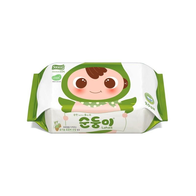 順順兒 -  頂級嬰兒濕紙巾20片