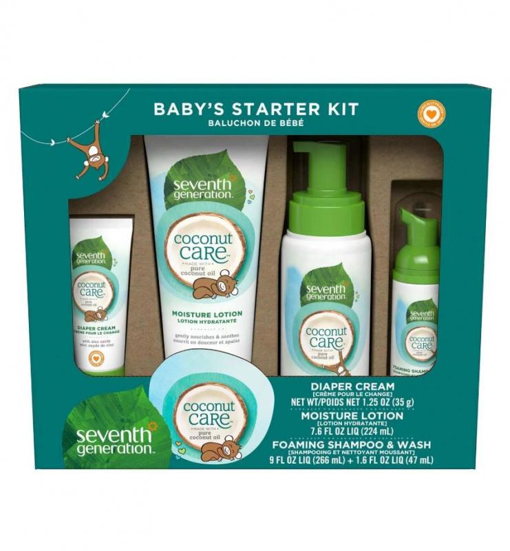 Seventh Generation 代代淨- Coconut Care™ 天然嬰兒護理禮盒裝