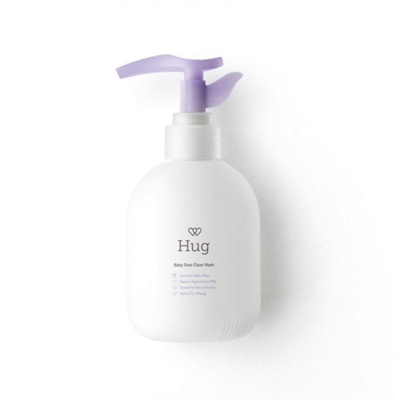 Hug 嬰兒有機微塵潔淨沐浴露 220ml
