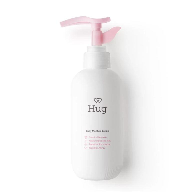 Hug 嬰兒有機保濕潤膚乳 220ml