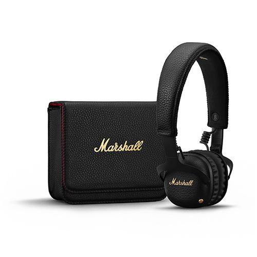 Marshall Mid A.N.C. 主動式抗噪耳機 [黑色]