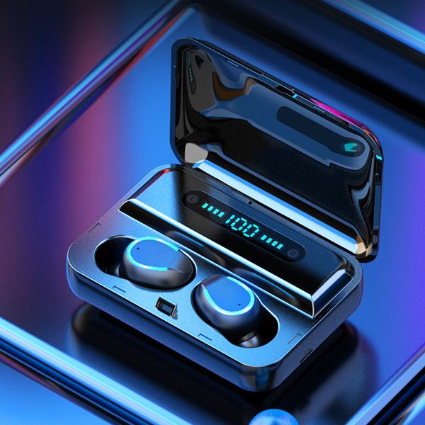 TSK - F9電量顯示運動入耳式無線5.0藍牙耳機