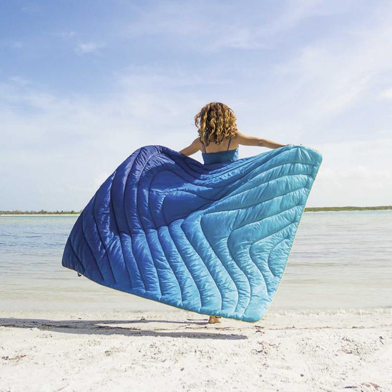 美國 Rumpl Original Puffy Blanket 1P 單人戶外露營毯