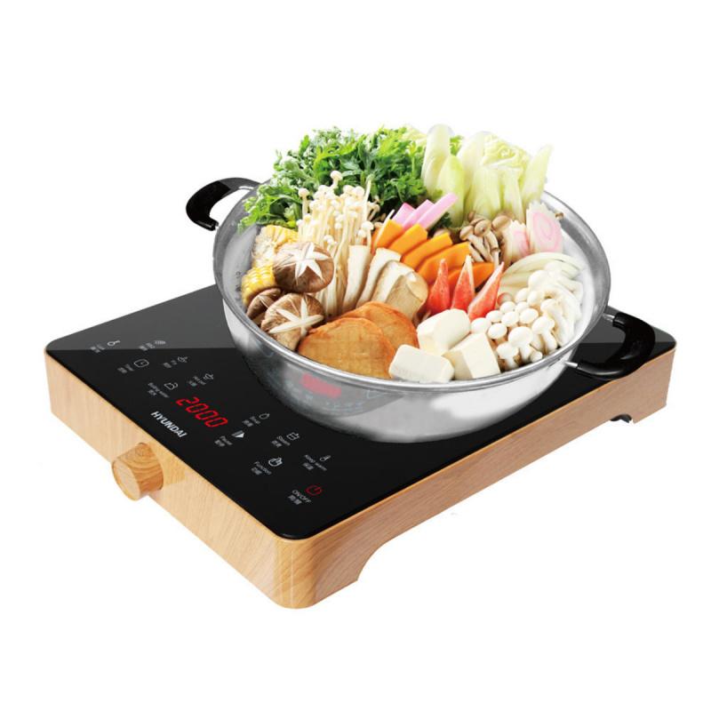 現代 - 2000W 木紋電磁爐 - HY-G16