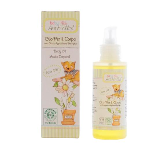 意大利 BABY ANTHYLLIS- 有機嬰幼兒潤膚油(100ml)