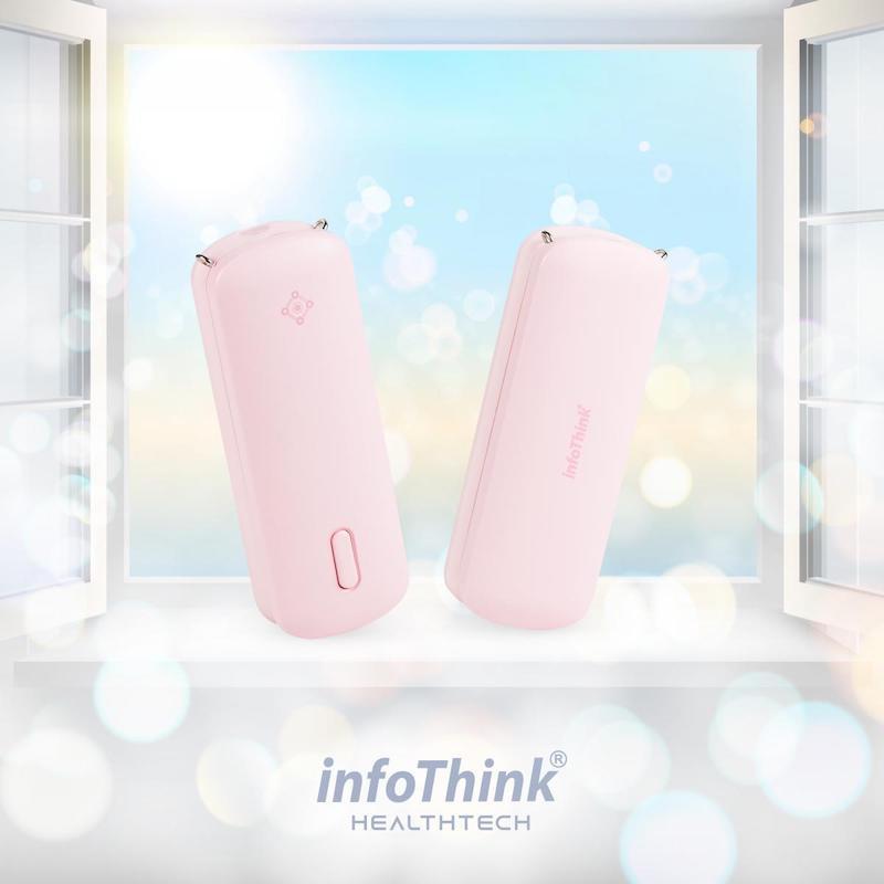 InfoThink iAnion-100 隨身負離子空氣清新機