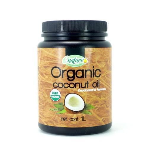 墨西哥ENATURE- 有機料理椰子油(無味)1L
