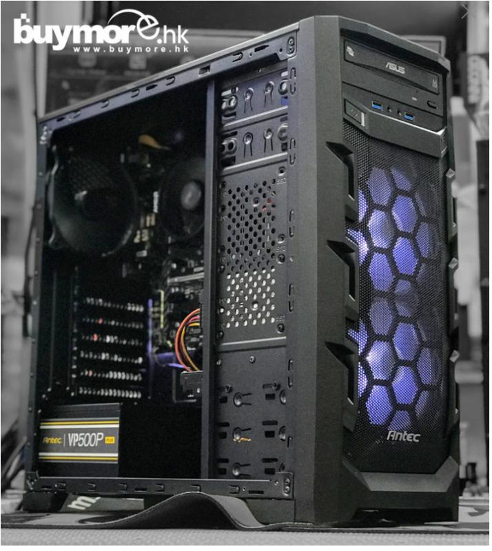未來科技 正版Window 10家用版 AMD Ryzen 3 3200G/ 8G/  250G NVMe SSD / ANTEC GX202 / Antec VP500/一買即用電腦組合