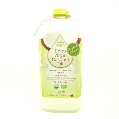 GREEN CASE - 有機初榨冷壓椰子油-1L