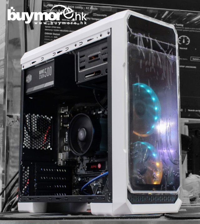 未來科技 AMD Ryzen 5 3400G / MSI A320M PRO-M2 / G.SKILL Aegis 8G DDR4-3000 / ADATA SX6000 256G NVMe SSD