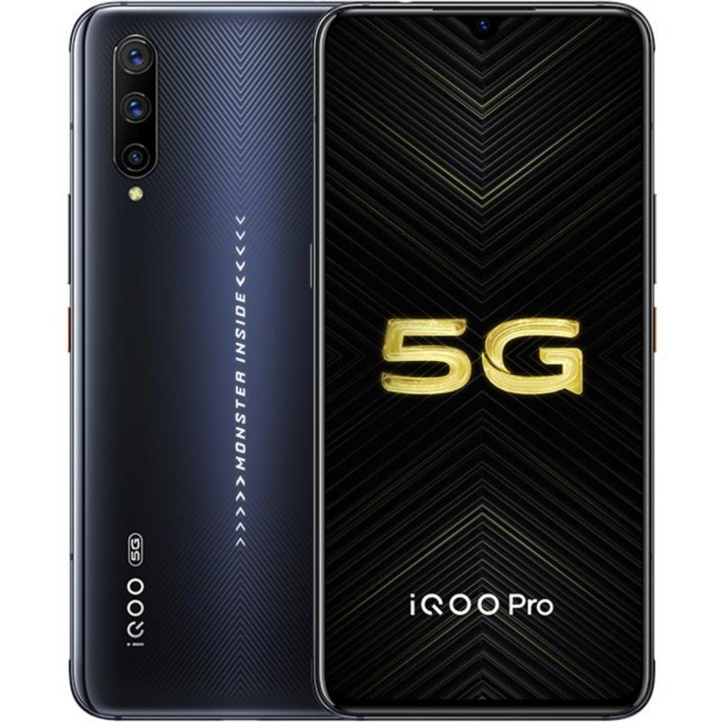 vivo - iQOO Pro 5G版- 電競手機 S855 Plus(競速黑/勒芒藍)