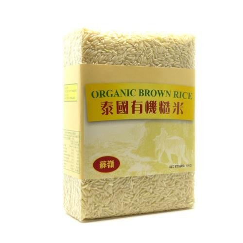 綠糧莊- 泰國有機香糙米 - 1KG