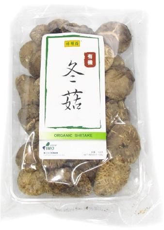 綠糧莊- 有機冬菇(中)120G