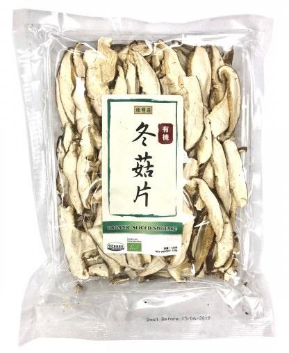 綠糧莊- 有機冬菇片 120G