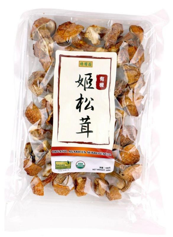 綠糧莊- 有機姬松茸100G