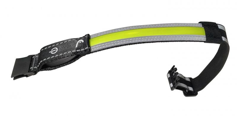 HEAD - 美國品牌 HSL-60 PRO LED可充電自行車安全頭帶 Medium