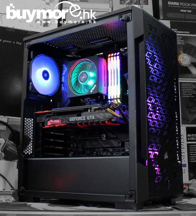 未來科技 AMD Ryzen 7 3700X / ASUS TUF X570-PLUS / CORSAIR RGB 32GB / Samsung 970 EVO 256GB NVMe SSD /MSI RX5700 MECH / CORSAIR iCUE 220T