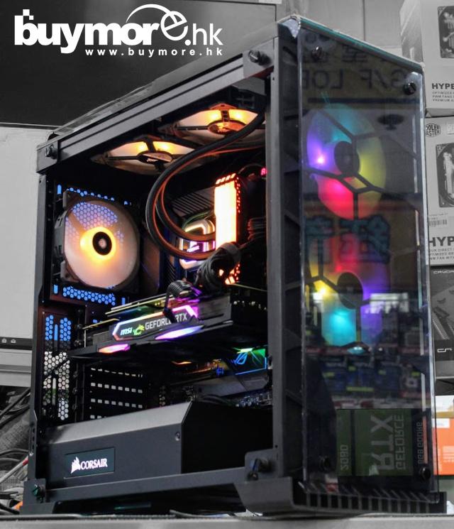 未來科技 Intel Core i9-9900K / ASUS Maximus XI HERO / CORSAIR RGB 32G / Samsung 970 1T NVMe SSD /MSI RTX2080TI GAMING X TRIO / Corsair 570X / Asus THOR 850W