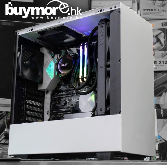 未來科技 Intel Core i9-9900K/ ASUS PRIME Z390-A/ CORSAIR RGB 16G/ HP 256GB NVMe SSD / NZXT H510 / CoolerMaster 650w / X52水冷