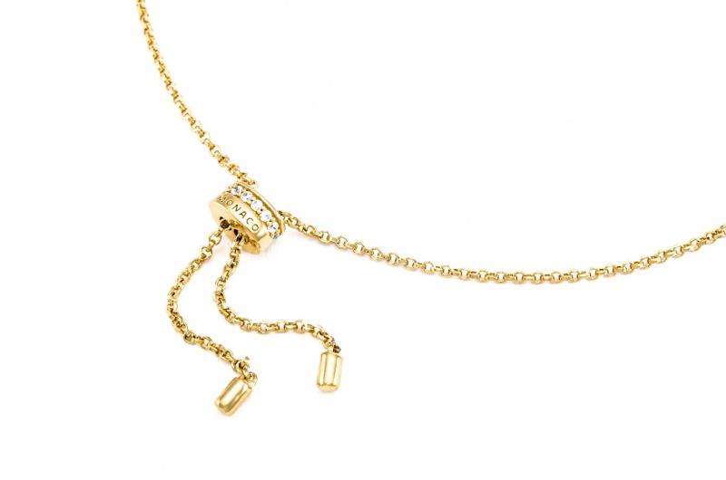 APM Monaco Arc-En-Ciel 黃色純銀項鍊 (AC4425MY)
