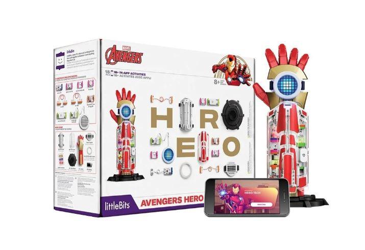 littleBits Avengers Hero Inventor Kit 復仇者英雄發明家玩具套組 - 8 歲以上適用