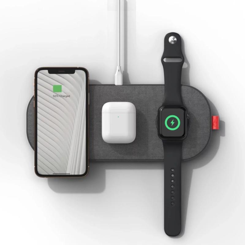 SliceCharge Pro 世界首款6線圈無線充電墊 [3色]