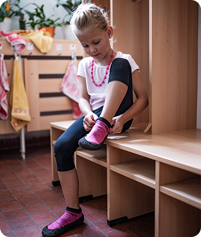 捷克 Skinners 防臭防水全能兒童襪鞋