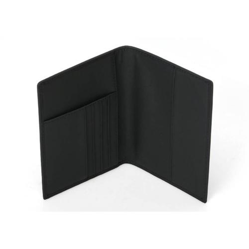 RFID真皮防盜証件護照卡套 [黑色]