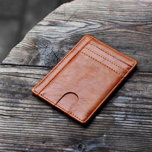 GI 真皮RFID防盗卡套 [2色]