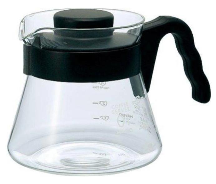 HARIO V60 Coffee Server 耐熱咖啡壺 450ml VCS-01B