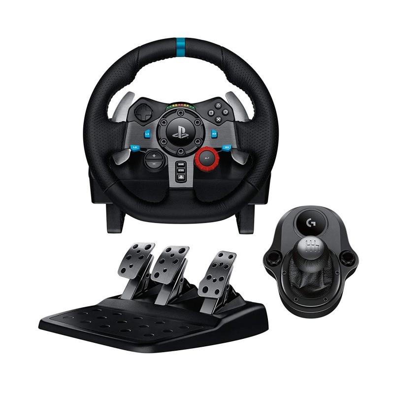 Logitech G29 賽車方向盤+Driving Force Shifter 變速器配件 套裝組合