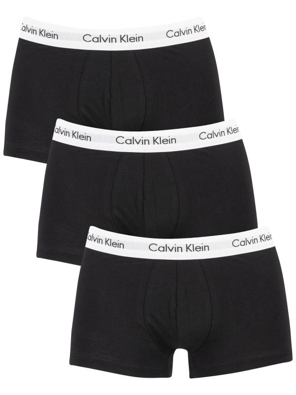 日本Calvin Klein 低腰經典男士棉質平腳內褲 [4碼]