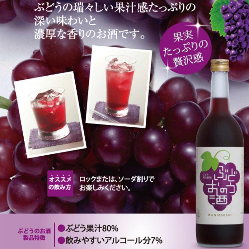 日版 國盛 提子果實酒 720ml【市集世界 - 日本市集】