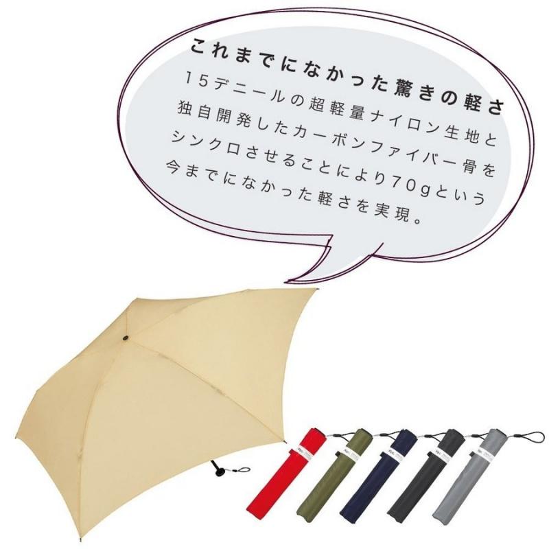日本Wpc. 超軽量防UV縮骨遮 [8款]